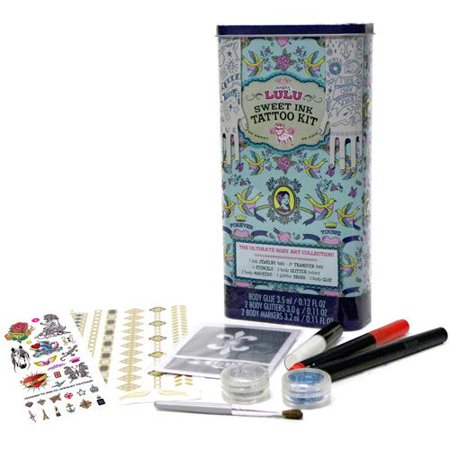 Sweet Ink Tattoo Kit - Totally Tween by Sugar Lulu (7004)