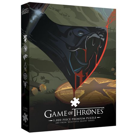 Game of Thrones Jigsaw Puzzle (1000 Piece), 1, 000 piece premium puzzle By USAopoly Usaopoly Dog Puzzle