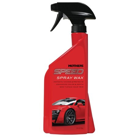 Mothers Polish 15724 24 Oz Bottle of Speed Spray Wax for Automobile