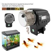 AF2009D Digital LCD Adjustable Aquarium Timer Fish Tank Pond Automatic Food Feeder Durable Auto Fish Feeder