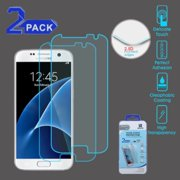 Insten 2-Pack Tempered Glass LCD Screen Protector For Samsung Galaxy S7