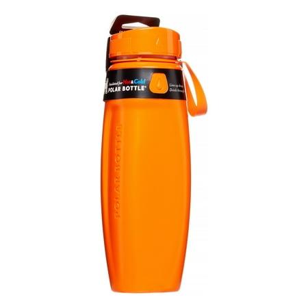 Ergo Spectrum Tangerine Hot Cold Insulated Water Bottle