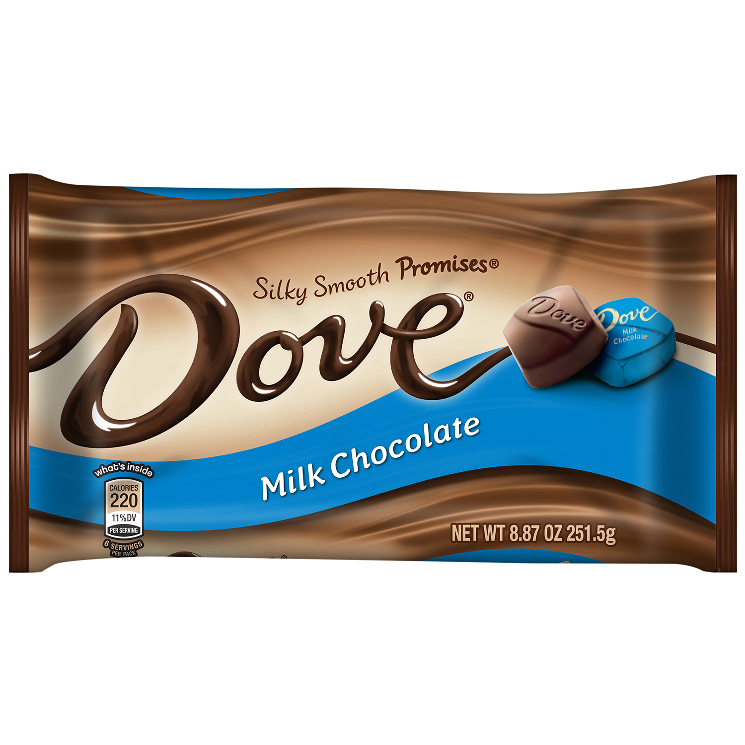 Dove Milk Chocolate, 8.87 oz by MARS, INC.