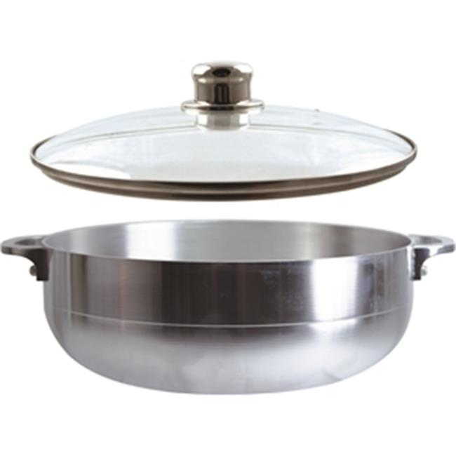 Dura-Kleen Usa, Inc.  97302#9 Pot Aluminum Shinny 6. 7 Qt.  With Lid