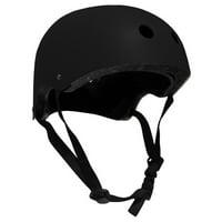CPSC Skateboard Fitness Inline Helmet ADULT OSFA BLACK/BLACK