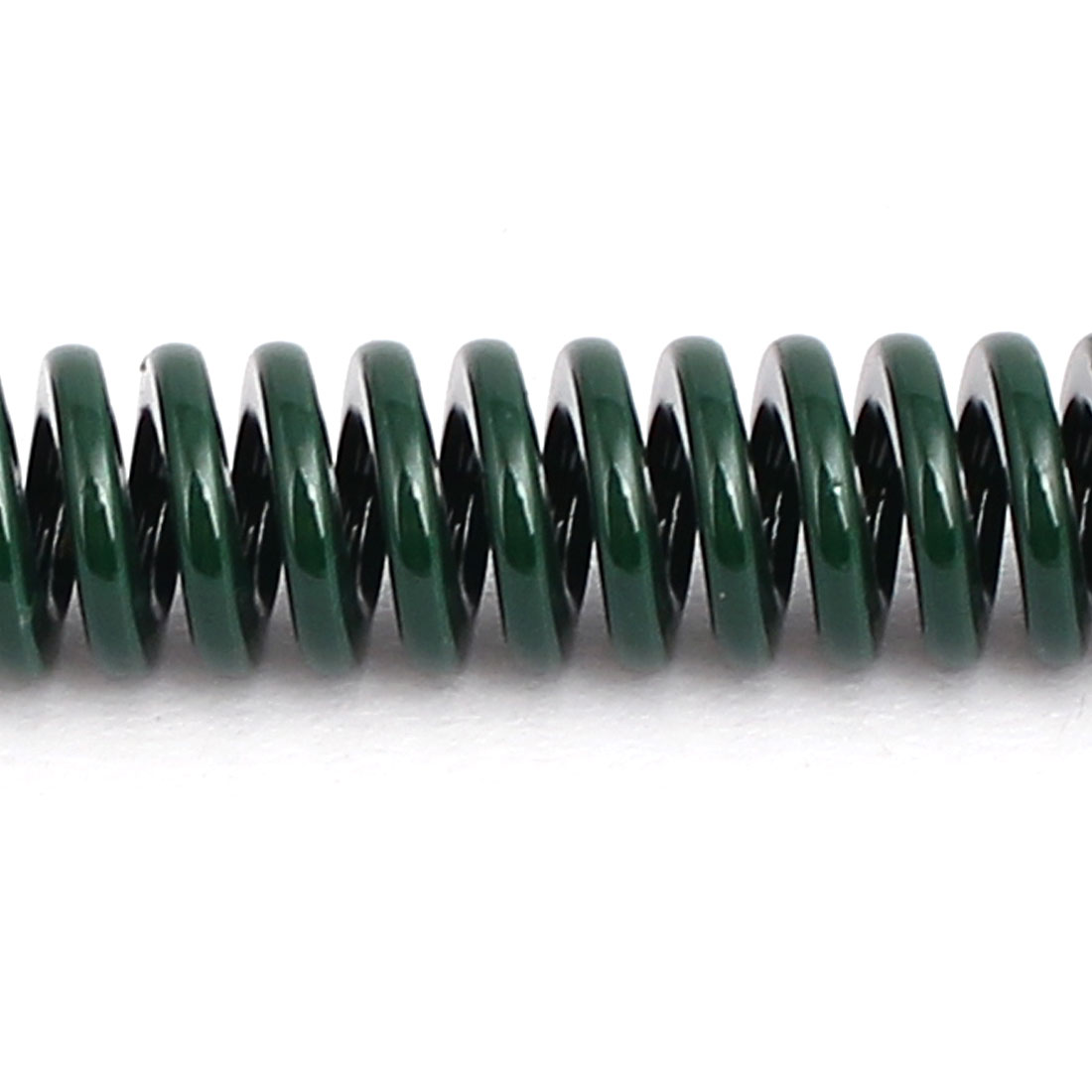 8mm OD 100mm Free Length Heavy Load Compression Mould Die Spring Green 10pcs - image 2 of 3
