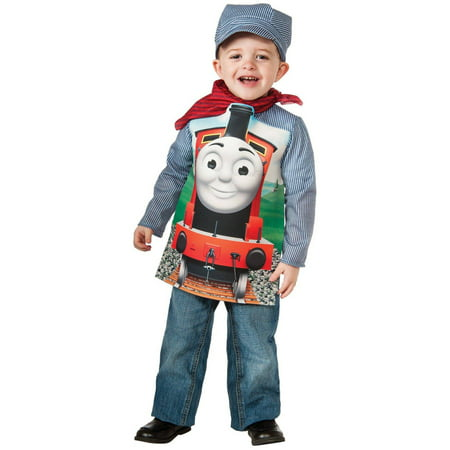 Thomas The Tank Deluxe Percy Toddler Halloween Costume, - Thomas The Tank Engine Costume For Adults