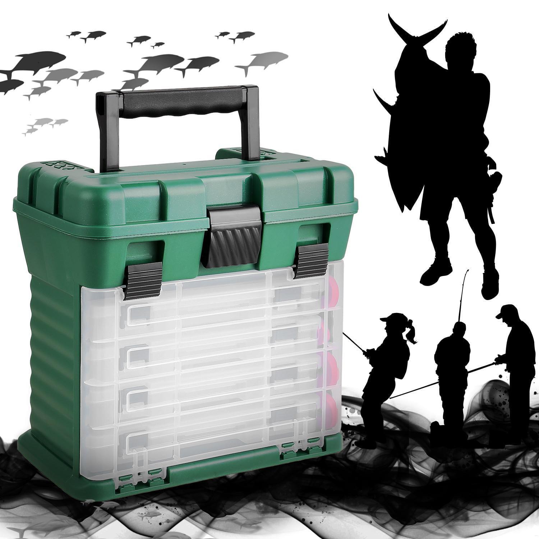 Fishing Tackle Box Multi-Function Large Fishing Tackle Gear Lure Storage Professional Waterproof Fishing Box BYE by
