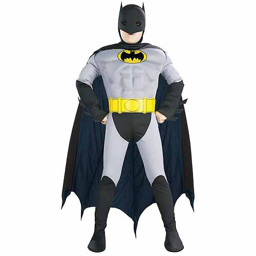 Muscle Chest Batman Toddler Halloween Costume