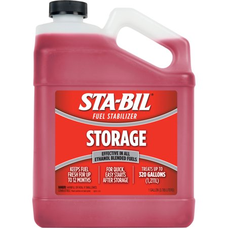 STA-BIL (22213) Storage Fuel Stabilizer, for Vehicles, Small Engines, and More,1 Gallon ()