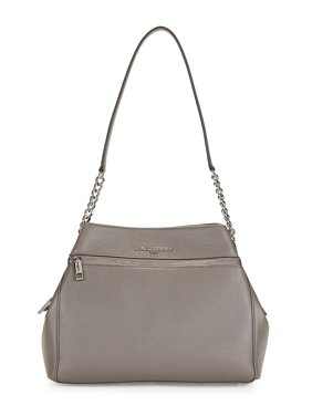 Bouqet Pebbled Leather Tote Bag
