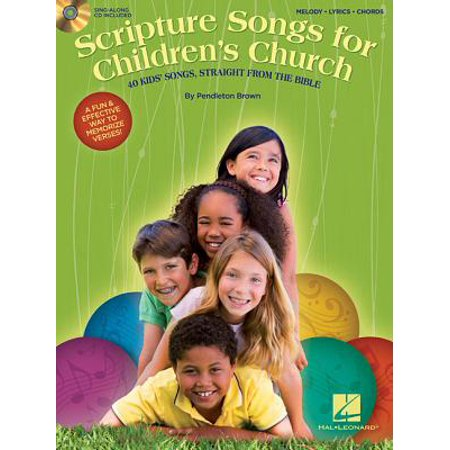 Scripture Songs for Children's Church : 40 Kids' Songs, Straight from the - Bible Toys