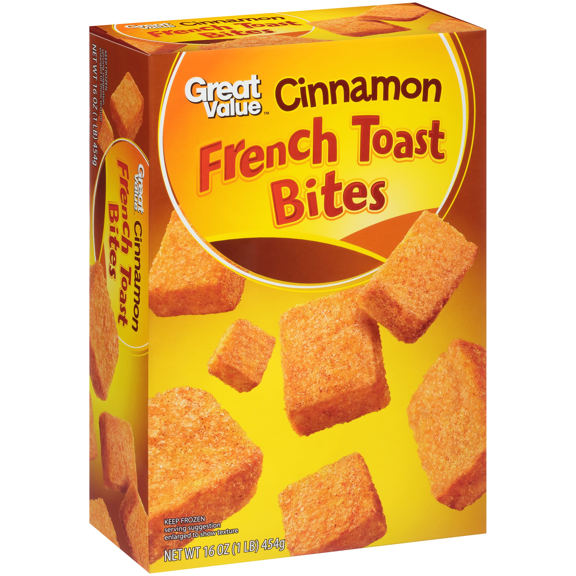 Great Value™ Cinnamon French Toast Bites 16 oz. Box
