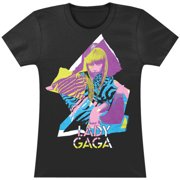 Lady Gaga  Neon Shapes Girls Jr Black