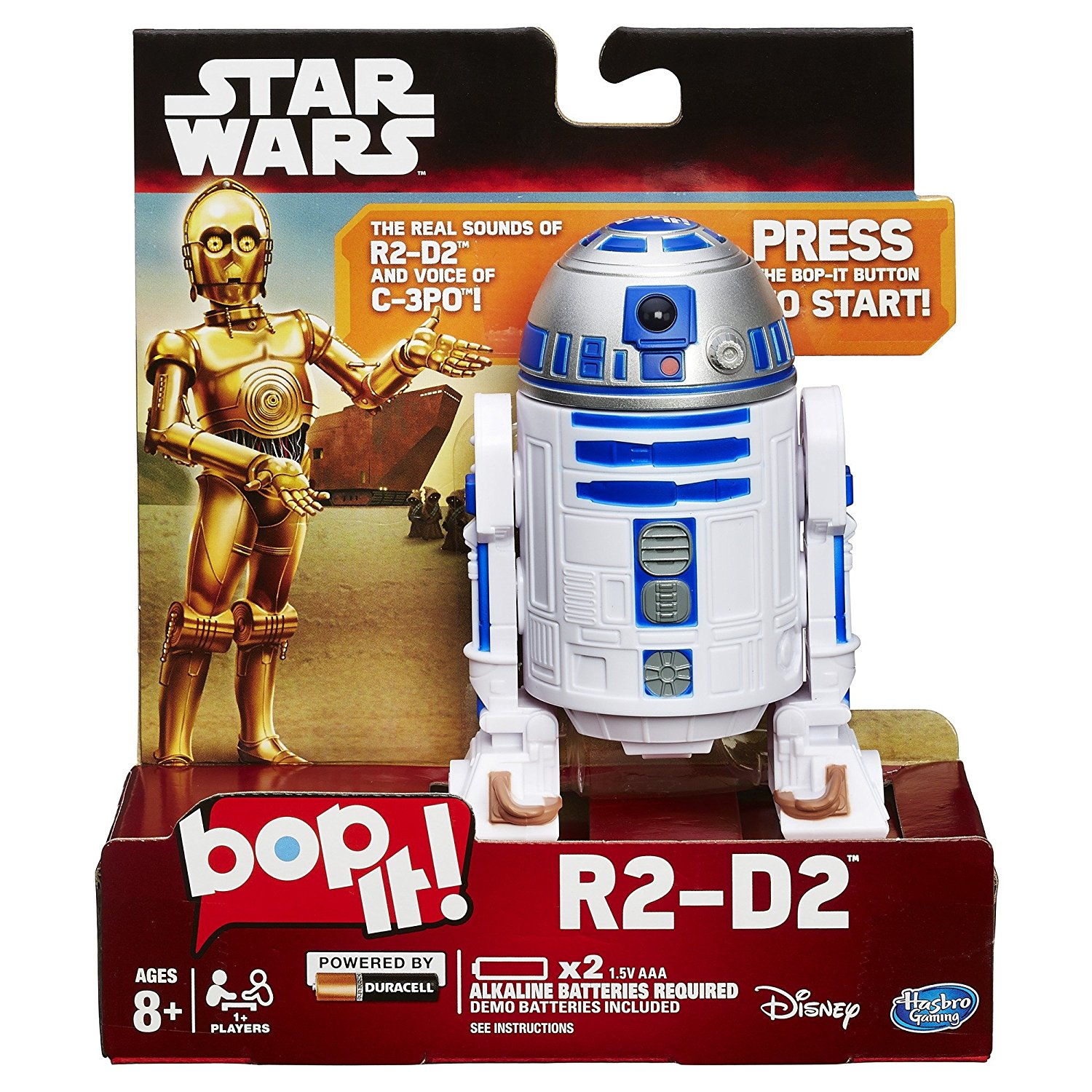 Star Wars Bop It R2-D2 Game, Electronic Star Wars version of the classic Bop It game By... by