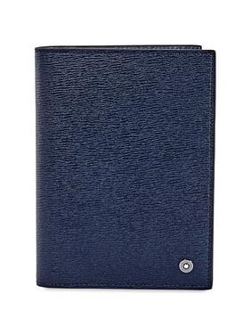 Montblanc 4810 Westside Passport Holder- Blue