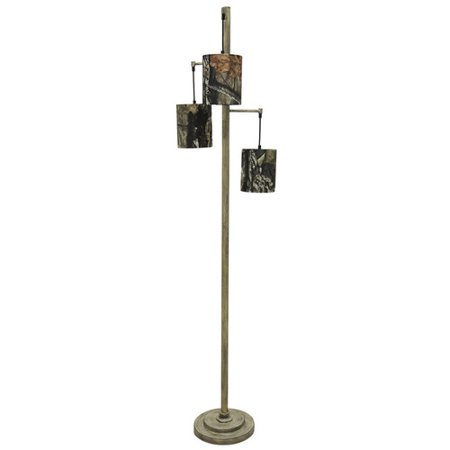 Mossy oak nativ living three tier 723939 tree floor lamp for 3 tier floor lamp