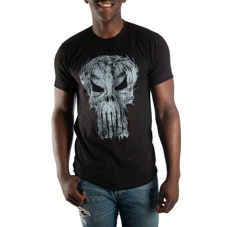0b98e776191ef Marvel Comics Men's Punisher T-Shirt, Up To Size 3Xl