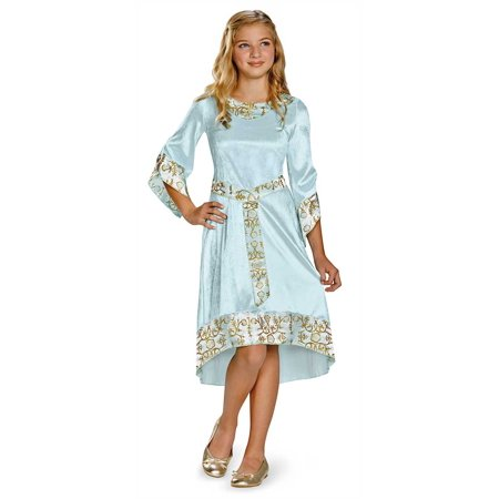 Child Disney Maleficent Aurora Blue Dress Classic Costume by Disguise 71794