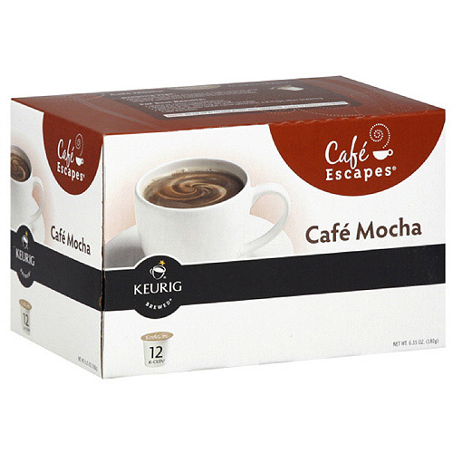 Green Mountain Coffee Roasters Cafe Mocha K-Cups Flavored Coffee Beverage, 12PC (Pack of 6)
