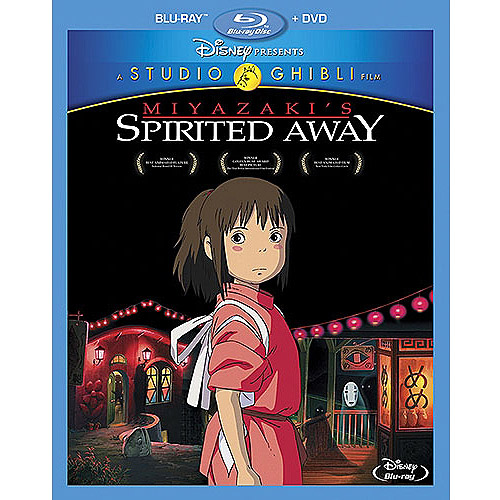 Spirited Away (Blu-ray   DVD) (Widescreen)
