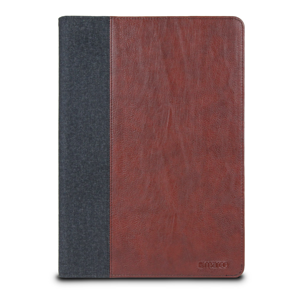 Maroo Synthetic Leather Folio For Surface 3, Woodland Brown