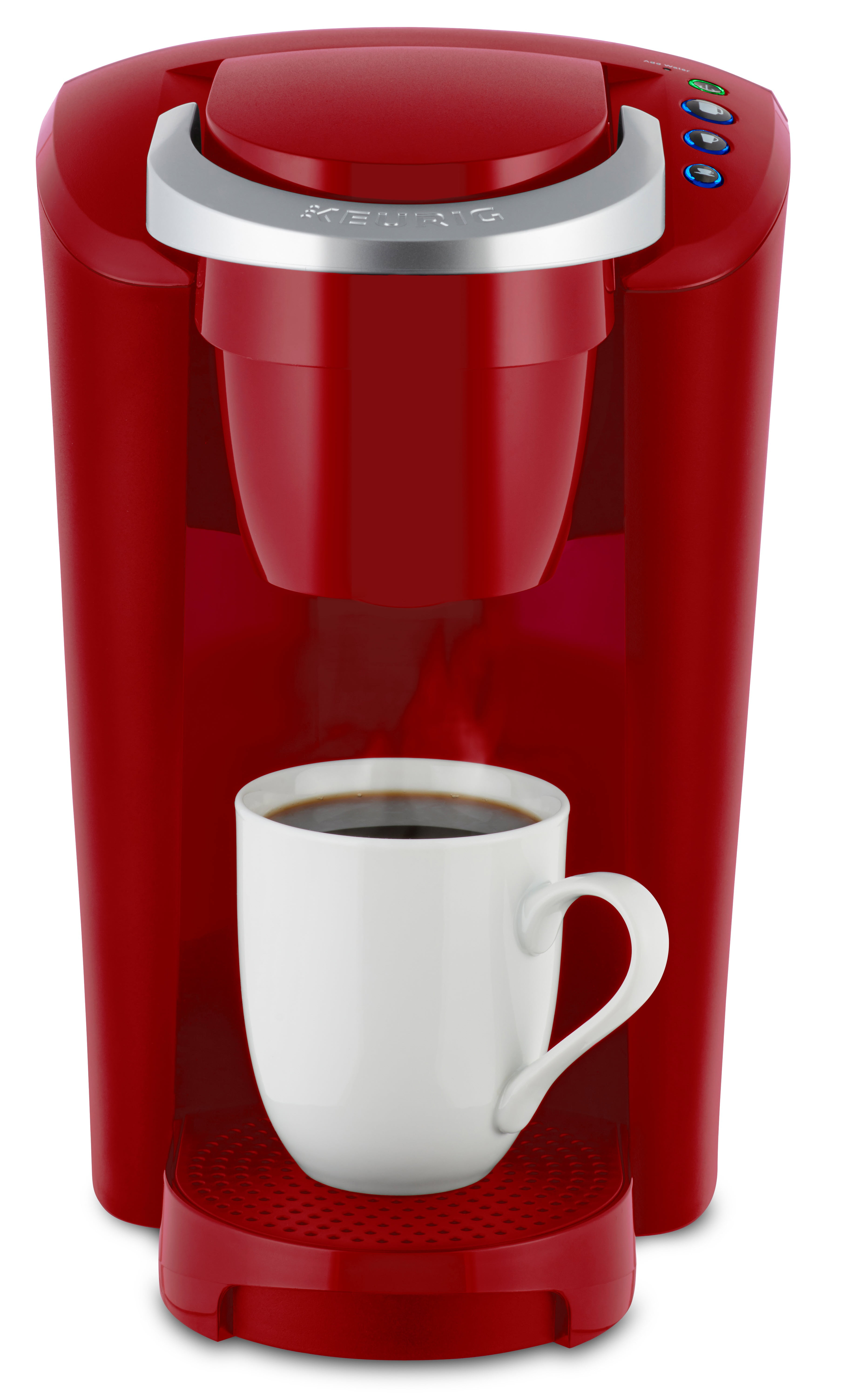 Keurig KCompact SingleServe KCup Pod Coffee Maker Imperial Red