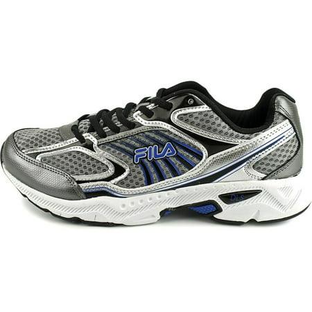 Fila Mens Memory Inspell Running Shoes 1SR20605 057 Dark Silver Black Prince Blue Size 13