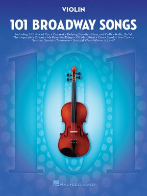 101 Broadway Songs for Cello by