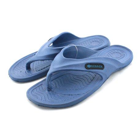 eea810455729 Kaiback - Kaiback Men s Blue Shower Flop - Walmart.com