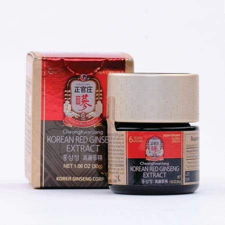 CheongKwanJang Korean Red Ginseng Extract - 1.05 oz. 1000mg/serving