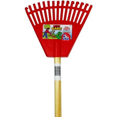 Emsco Group Little Diggers Childrens Garden Leaf Rake