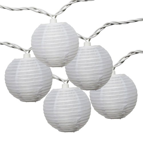 Mainstays 10-Count Multicolor Fabric Lantern String Lights by NEW BAIJI INDUSTRIAL