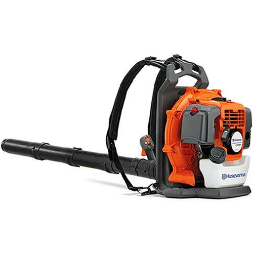 Husqvarna 130BT Husqvarna 130BT 29.5cc Gas 2-Cycle Backpack Leaf Blower with X-Torq Engine and E, Leaf Blower