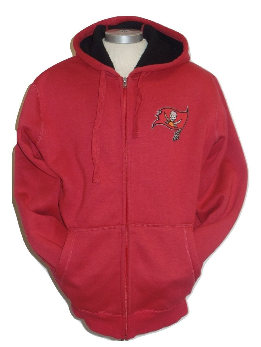 Tampa Bay Buccaneers Men's Sherpa Fleece Hooded Jacket by G-III Sports