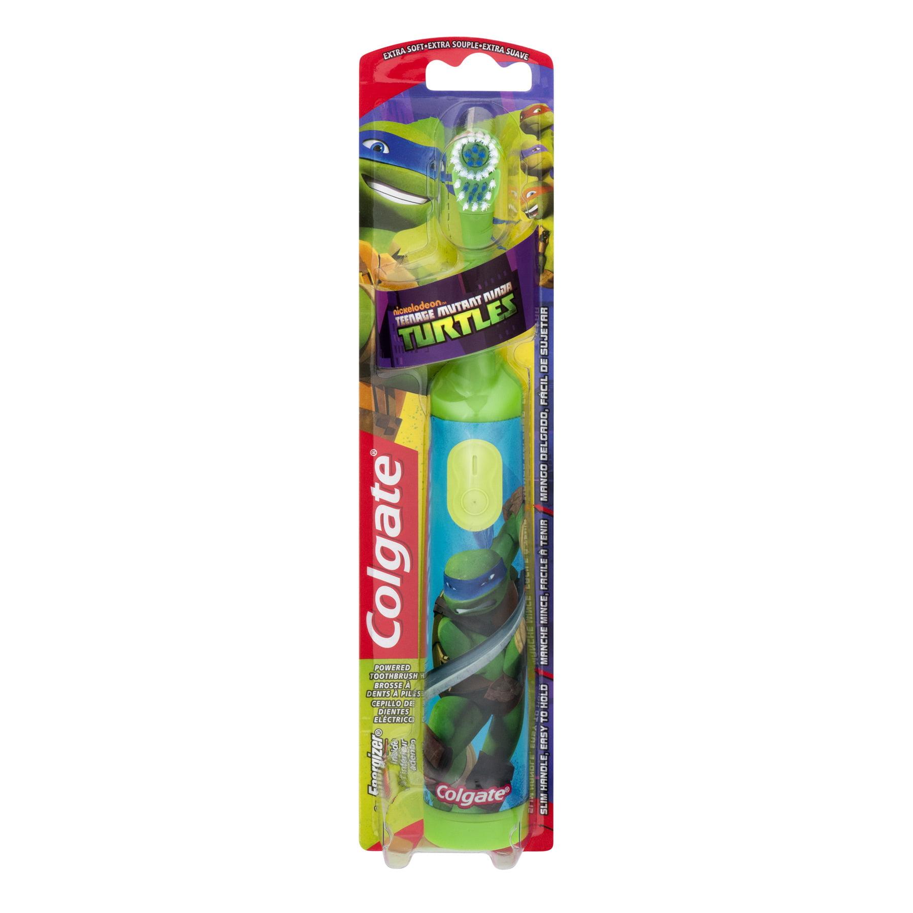 Colgate Kids Powered Toothbrush, Teenage Mutant Ninja Turtles, Extra Soft