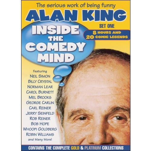 Alan King: Inside The Comedy Mind, Set 1 - Gold & Platinum Collections