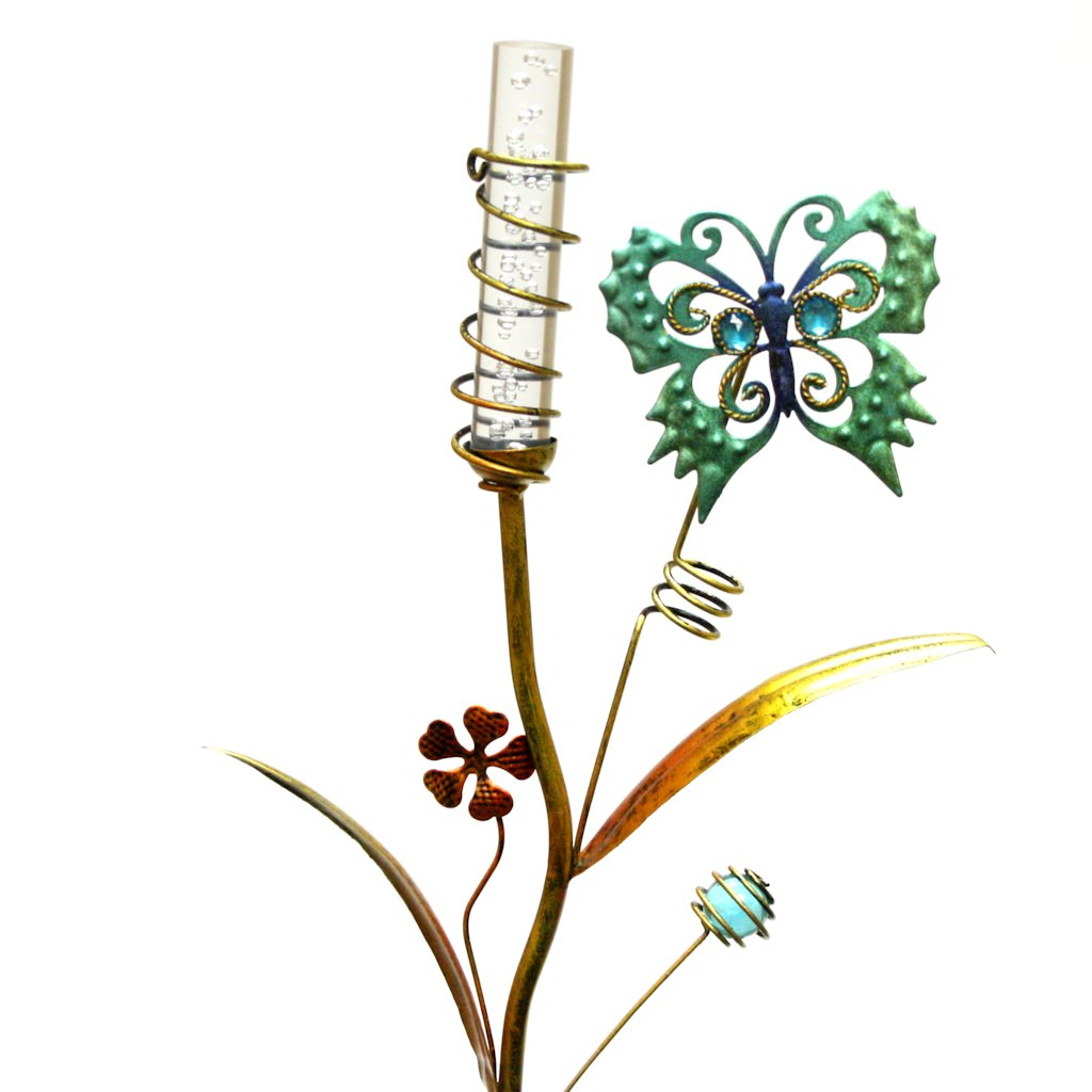 "Regal Art  and  Gift 10371 - 35"" x 10"" Butterfly Stake (Color Changing) Solar LED Light"