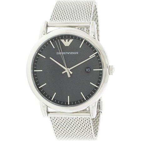 Emporio Armani Men's AR11069 Silver Stainless-Steel Japanese Quartz Fashion Watch - image 1 de 1