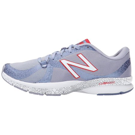 New Balance Womens Wx88po Low Top Lace Up Running Sneaker, Purple, Size 5.5 ()