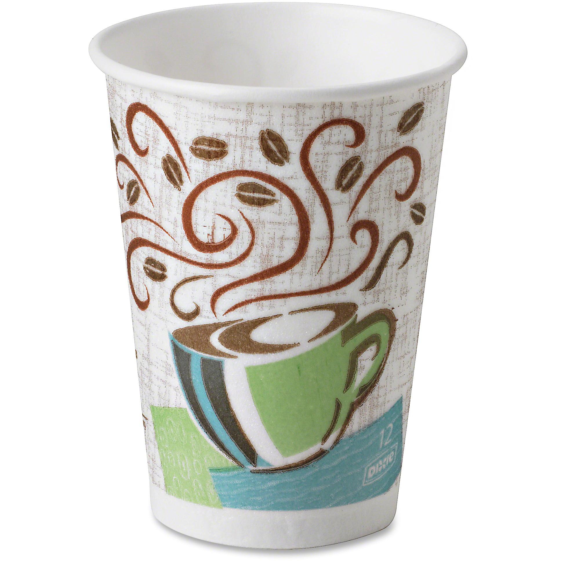 Dixie, DXE5342CDSBP, PerfecTouch Coffee Haze Hot Cups, 160 / Pack, Assorted, 12 fl oz