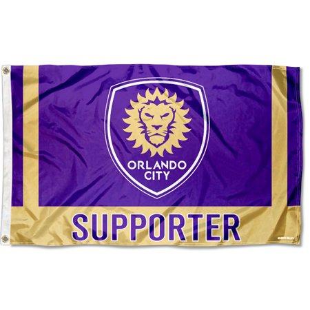 Orlando City Soccer Club Supporter MLS Flag ()