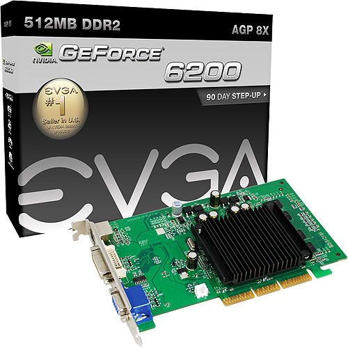 EVGA GeForce 6200 512MB AGP 64bit DDR2