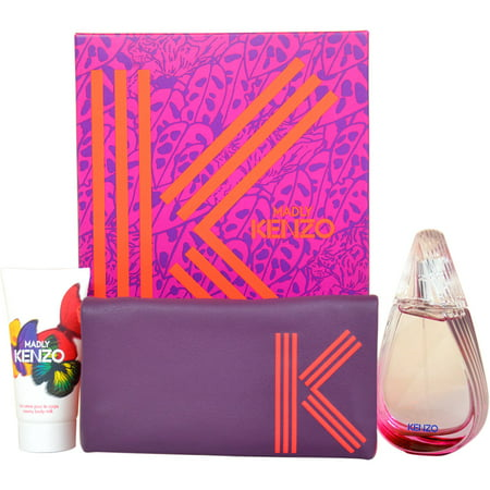 Kenzo Kenzo Madly Gift Set, 3 pc Kenzo Kenzo Madly Gift Set, 3 pc: Introduced by the design house of KenzoRecommended for Evening wear