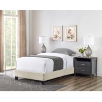 Colton Woven Upholstered Bed, Multiple Sizes and Colors