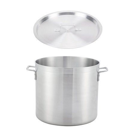 40 Quart Aluminum Stock Pot - Winco ALST-40, 40-Quart 14.6