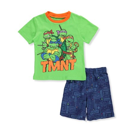 TMNT Boys' 2-Piece Shorts Set Outfit