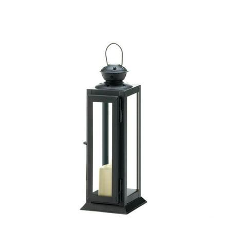 - Decorative Lanterns For Candles, Black Metal Lantern Candle Holder