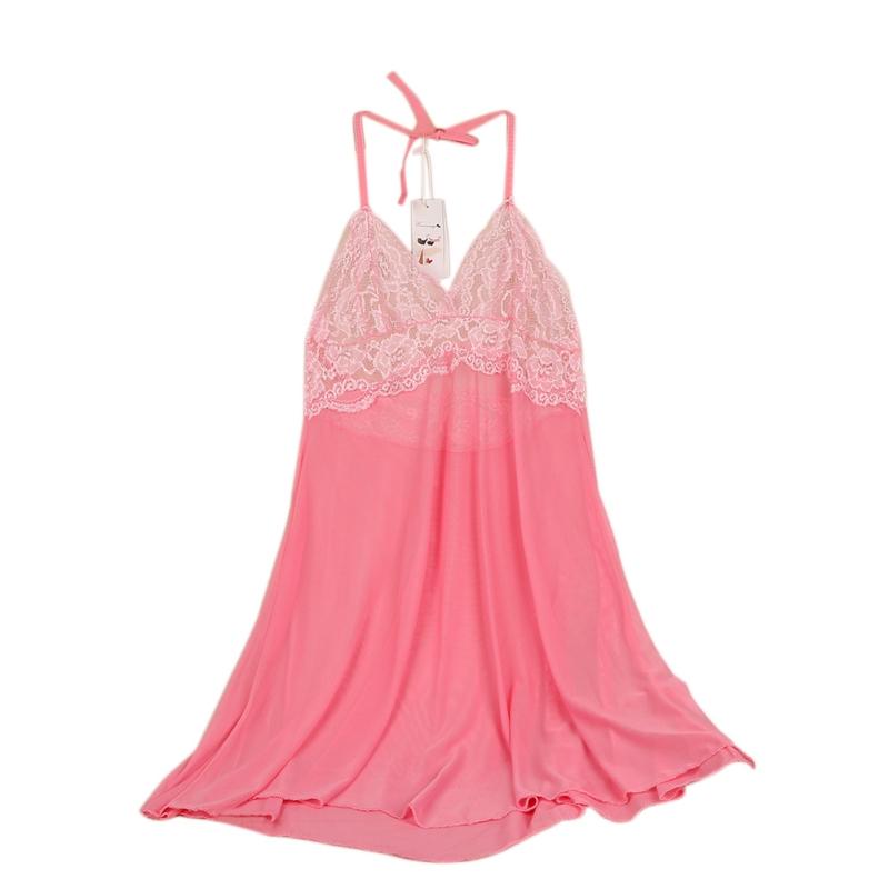 EFINNY Plus Size Womens Sexy Lingerie Lace Dress Underwear Babydoll Sleepwear+G-string