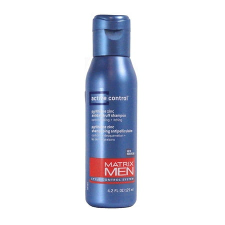 - Matrix  Men's Active Control 4.2-ounce Anti-Dandruff Shampoo